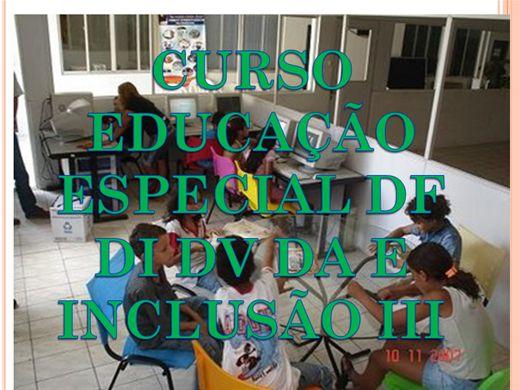 Curso Online de CURSO EDUCAÇÃO ESPECIAL DF DI DV DA E INCLUSÃO III