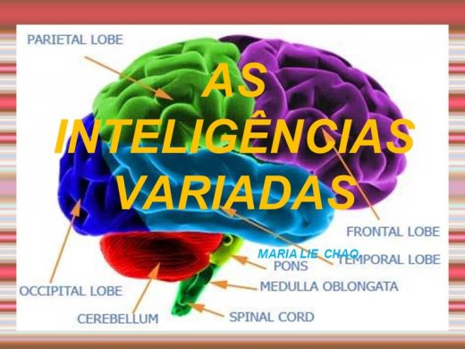 Curso Online de CURSO AS INTELIGÊNCIAS VARIADAS