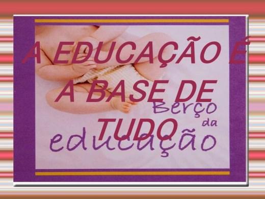 Curso Online de CURSO A EDUCAÇÃO É A BASE DE TUDO