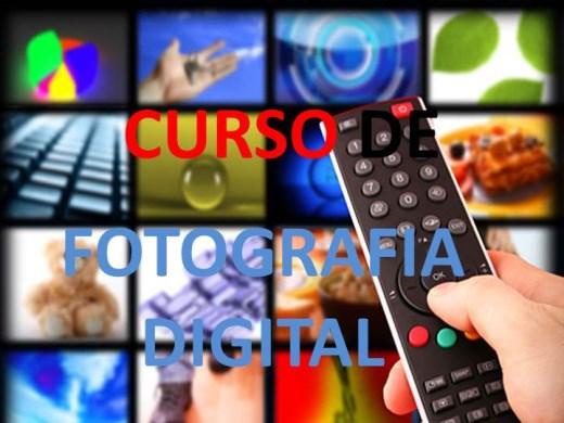 Curso Online de CURSO DE FOTOGRAFIA DIGITAL