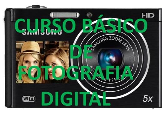 Curso Online de CURSO BASICO DE FOTOGRAFIA DIGITAL