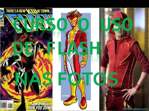 Curso Online de CURSO O USO DE FLASH NAS FOTOS