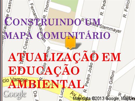 Curso Online de CONSTRUINDO UM MAPA COMUNITÁRIO ATUALIZAÇÃO EM EDUCAÇÃO AMBIENTAL