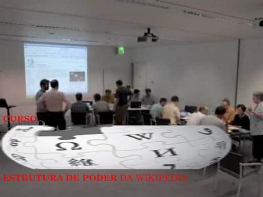 Curso Online de CURSO ESTRUTURA DE PODER DA WIKIPÉDIA