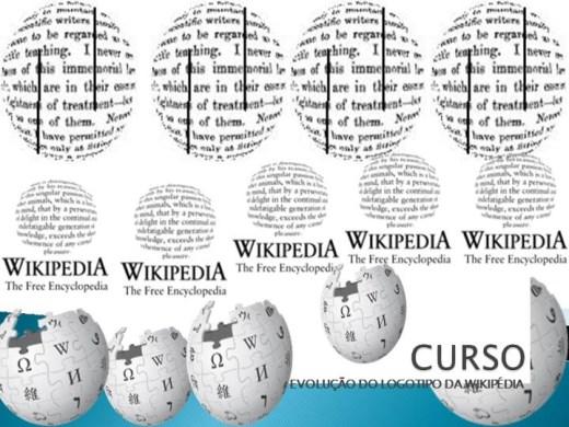 Curso Online de CURSO A EVOLUÇÃO DO LOGOTIPO DA WIKIPÉDIA
