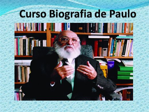 Curso Online de CURSO BIOGRAFIA DE PAULO FREIRE