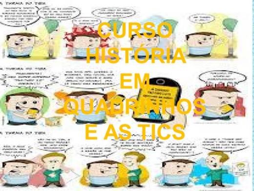 Curso Online de HISTÓRIA  EM QUADRINHOS E AS TICS