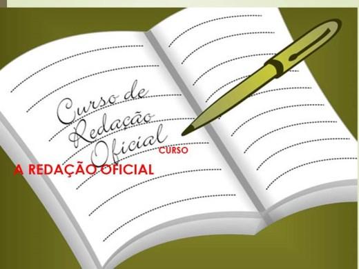 Curso Online de CURSO A REDAÇÃO OFICIAL