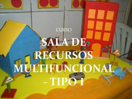Curso Online de CURSO SALA DE RECURSOS MULTIFUNCIONAL - TIPO I