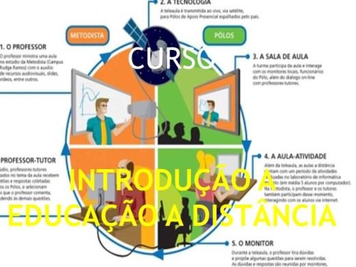 Curso Online de CURSO INTRODUÇÃO A EDUCAÇÃO A DISTÂNCIA