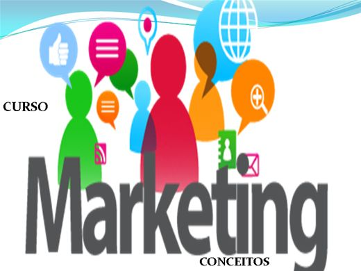 Curso Online de CURSO MARKETING CONCEITOS