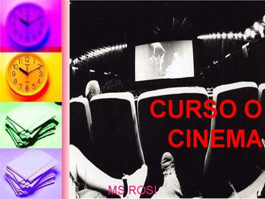 Curso Online de CURSO O CINEMA