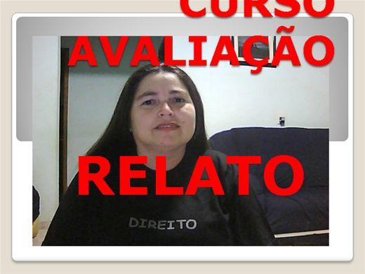 Curso Online de CURSO AVALIAÇÃO RELATO