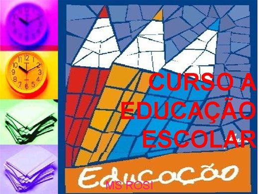 Curso Online de CURSO A EDUCAÇÃO ESCOLAR