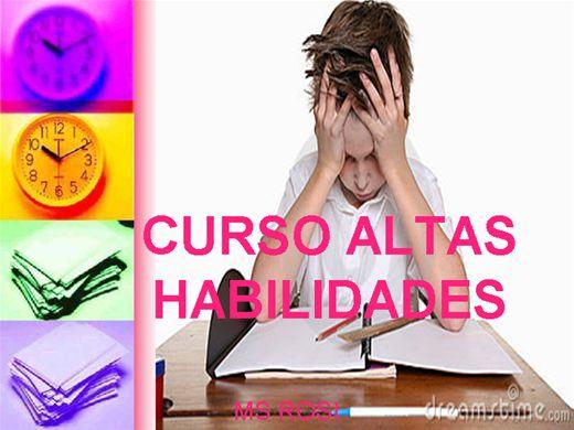 Curso Online de CURSO ALTAS HABILIDADES