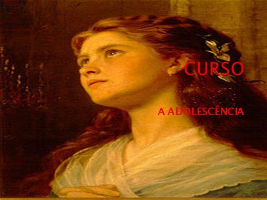 Curso Online de CURSO A ADOLESCÊNCIA