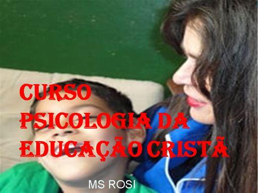 Curso Online de CURSO  PSICOLOGIA DA  EDUCAÇÃO CRISTÃ