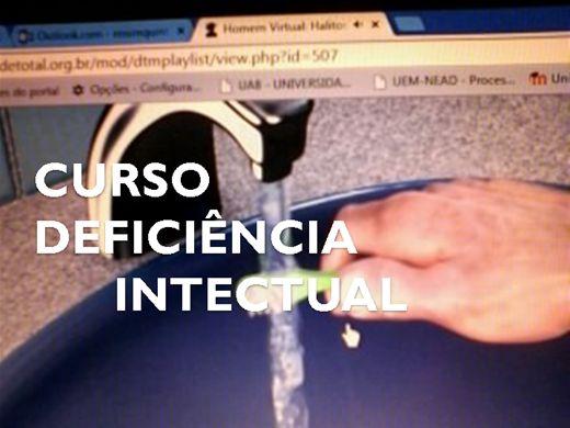 Curso Online de  CURSO DEFICIÊNCIA INTECTUAL