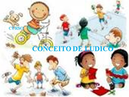 Curso Online de CURSO CONCEITO DE LUDICO