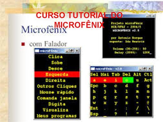 Curso Online de CURSO TUTORIAL DO MICROFÊNIX