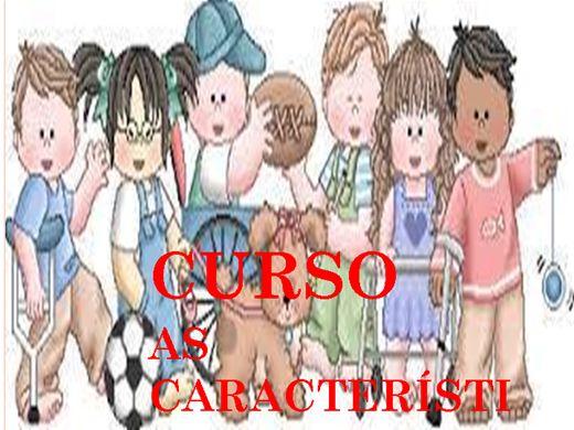 Curso Online de CURSO AS CARACTERÍSTICAS DAS CRIANÇAS EM CADA FAIXA ETÁRIA