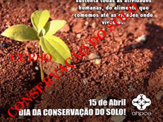 Curso Online de CURSO CONSERVAÇÃO DO SOLO