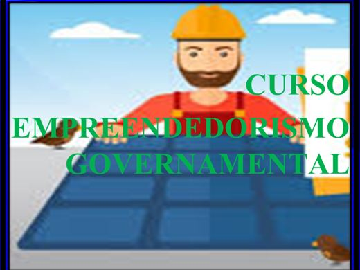 Curso Online de CURSO EMPREENDEDORISMO GOVERNAMENTAL