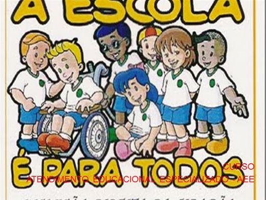 Curso Online de CURSO ATENDIMENTO EDUCACIONAL ESPECIALIZADO - AEE