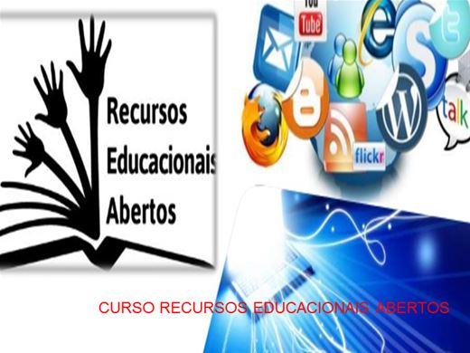 Curso Online de CURSO RECURSOS EDUCACIONAIS ABERTOS
