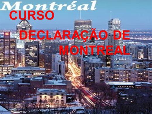 Curso Online de CURSO DECLARAÇÃO DE MONTREAL