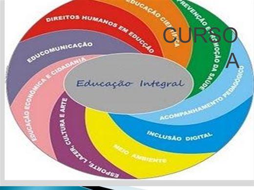 Curso Online de CURSO A EDUCAÇÃO INTEGRAL
