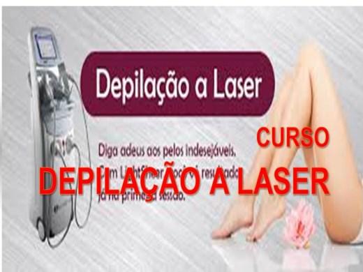 Curso Online de DEPILAÇÃO A LASER