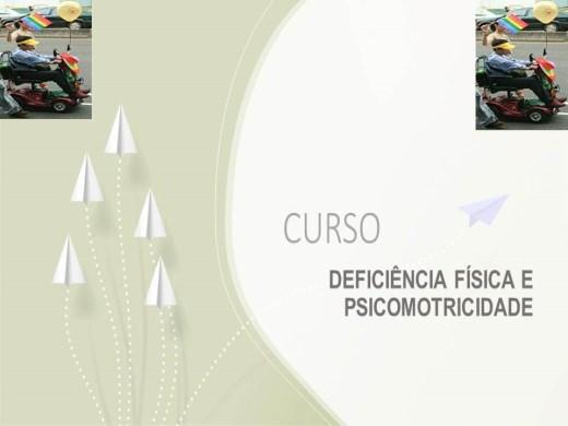 Curso Online de DEFICIÊNCIA FÍSICA E PSICOMOTRICIDADE