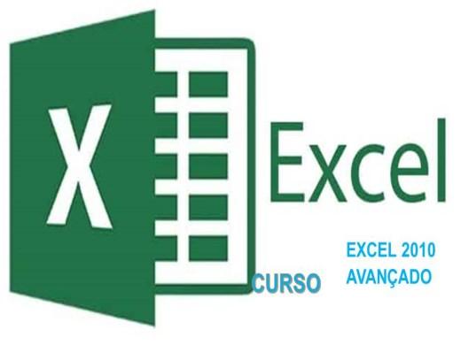 Curso Online de EXCEL 2010 AVANÇADO