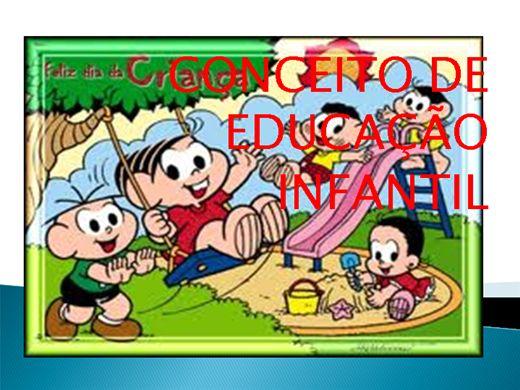Curso Online de Conceito de Educação infantil