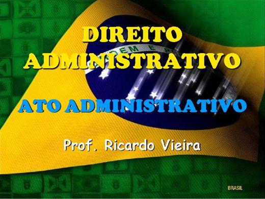 Curso Online de Ato Administrativo