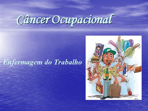 Curso Online de ENFERMAGEM DO TRABALHO - Câncer Ocupacional