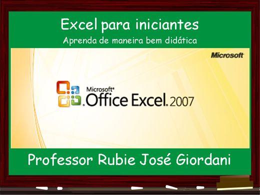 Curso Online de Excel para iniciantes