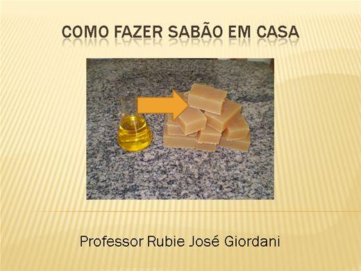 Curso Online de Como fazer sabão com óleo de soja e álcool
