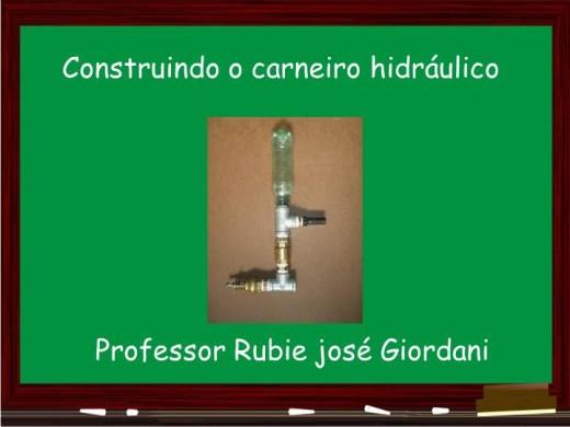 Curso Online de Carneiro hidráulico: água bombeando água