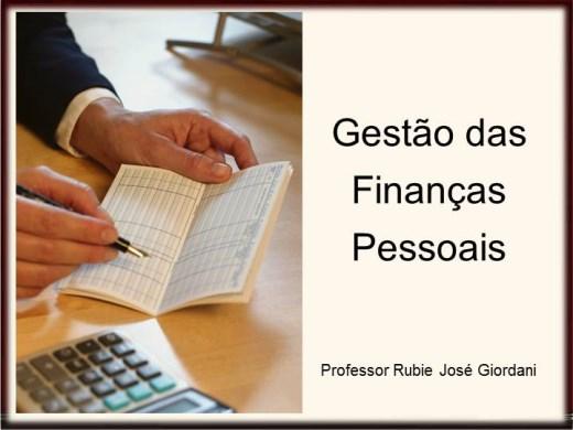Curso Online de Gestão das Finanças Pessoais