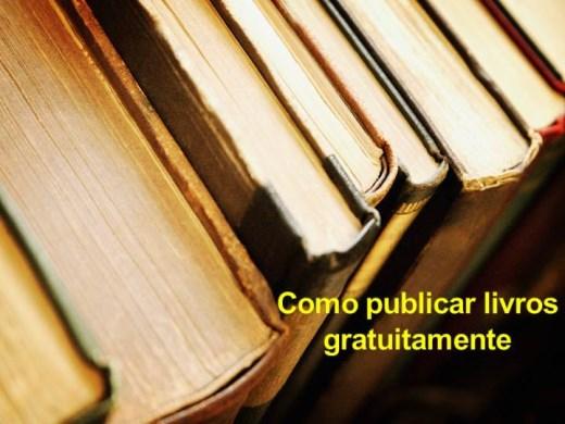 Curso Online de Como Publicar Livros Gratuitamente
