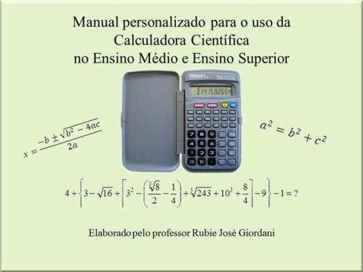 Curso Online de Uso da Calculadora Científica no Ensino Médio e Superior