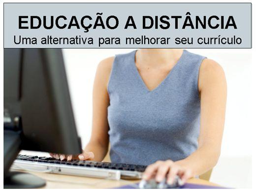 Curso Online de Educação a Distância: melhorando o currículo