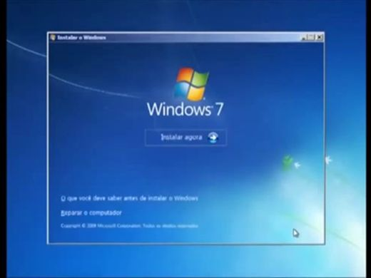 Curso Online de Como formatar Windows 7