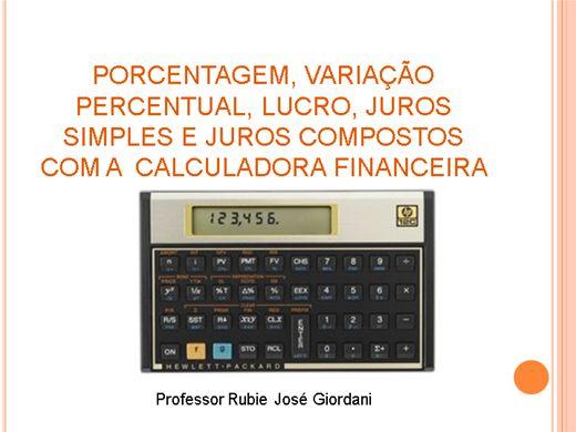 Curso Online de Calculadora Financeira HP 12 C
