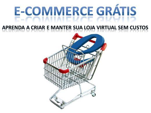 Curso Online de E-commerce grátis