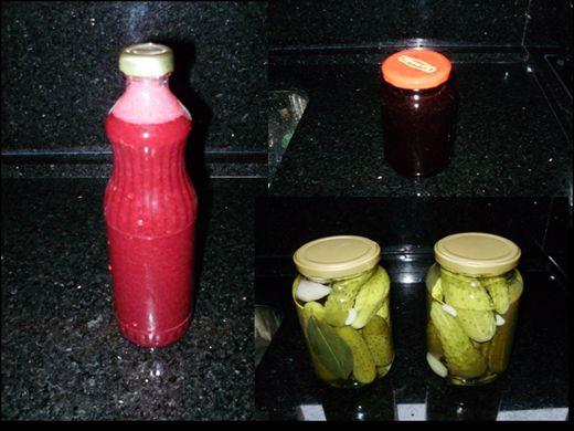 Curso Online de Como fazer conserva de pepinos, suco e geleia de uva