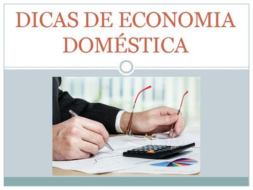 Curso Online de Dicas de economia doméstica