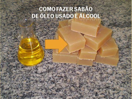 Curso Online de Como fazer sabão de óleo usado e álcool